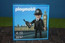 Playmobil 9237 Englischer Bobby Sonderedition Polizist British Police MISB Neu