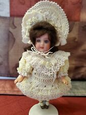 Exquisite Crochet Ensemble for Antique/Other All Bisque Doll