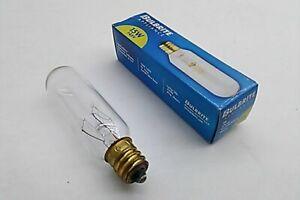 Bulbrite 15w 145v 15T6/4 Light Bulb Lamp ClearT6 Tubular Candelabra base