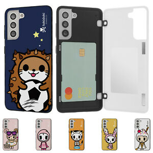 Tokidoki Look Magnetic Door Bumper Cover for Galaxy S21 S20 Note20 Note10 Case