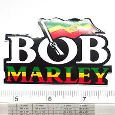 """Bob Marley Reggae Singer Decals Sticker Non Reflective Light 2x3.25"""""""