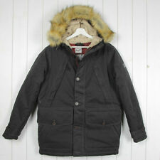 Cotton Parkas Regular Size Coats & Jackets for Men