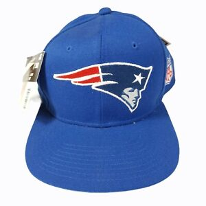 NWT Vintage 90s New England Patriots Starter The Right Hat Wool Blend Strapback
