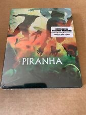 Piranha (1978) Region A Steelbook Blu Ray New & Sealed Scream Factory Joe Dante