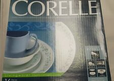 corelle country cottage 32 pc set, dishes, plates,cups