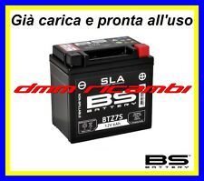 Batteria BS SLA Gel YAMAHA WR 250 F/X 08>09 carica pronta all'uso 4T 2008 2009