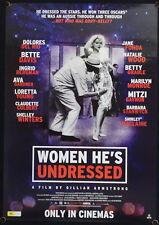 Women He's Undressed (2015) Australian One Sheet MONROE