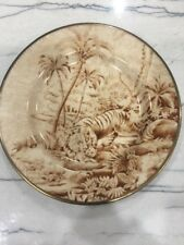 Pottery Barn Sabyasachi Plates Animals Tiger   9 inch  Multiple Available