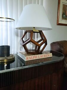 RALPH LAUREN 'DUSTIN DODECAHEDRON' GEOMETRIC TABLE LAMPS (SOLD-OUT!!)