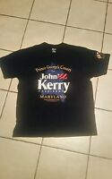 """T-Shirt; L; LOGO:---""""Prince George's County for John Kerry PRESIDENT,MARYLAND"""