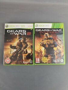 Gears of War 3 / Gears Of War Judgement - Double Bundle - Xbox 360 - Free P&P