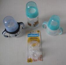 3 Babyflaschen und 1 Päckchen Sauger von Babylove
