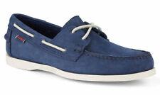 Mens Sebago Docksides Portland Suede Deck Shoes Blue UK 8.5  US 9  EU 43  £115