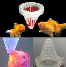 Aquarium Basket Feeder Tool Fish Food Live Worm Cone Brine Shrimp Tool
