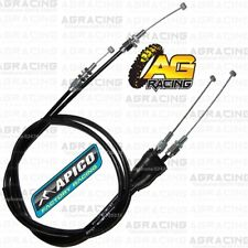 Apico Twin Throttle Cable For Honda CRF 250R 2010-2017 CRF 450R 2009-2016
