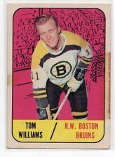 1X TOM WILLIAMS 1967 68 Topps #40 P BOSTON BRUINS 67-68