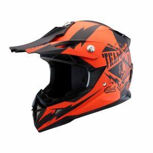 Zox Pulse JR Off-Road Motocross MX Helmet Matte Orange Youth