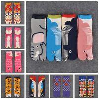 Sandal Short Socks Split Toe Socks Geta Kimono Flip Flop CARP Koi Samurai