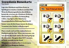 █ Snowdonia Bonuskarte Erweiterung - Pen-Y-Gwryd Hotel - NEU █