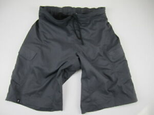 Mens Small Specialized Relaxed Fit gray baggy MTB mountain biking cycling shorts