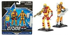 G.I. Joe 50th ANNIVERSARIO fiamma ossidrica VS h.e.a.t VIPER 2 Pack-Nuovo In Magazzino
