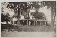Coolbaugh Pa Echo Lake House, Monroe County Pennsylvania c1910 Rare Postcard N6