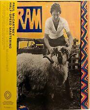 New listing Paul McCartney - RAM - 50th Anniversary - 1/2 Speed Vinyl New/Sealed FREE COVER!