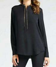 guess by marciano chain detail shirt blouse