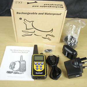 Eyeleaf Dog Training Collar, NO SHOCK Vibrating Dog Collar + Remote Control NEW