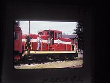 Original slide Train middletown hummelstown Hershey PA M&H engine 2 station line