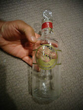 Ancien Flacon de Parfum VIDE en Verre Roget Gallet Paris 500ml