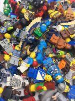 20 Lots of 5,10 LEGO Minifigure RANDOM Grab Bag City//Town//Friends People