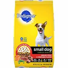 Pedigree Small Breed Adult Dry Dog Food Steak 15.9 Lbs.