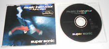 Single CD Music Instructor & Flying Steps - Super Sonic 1998 5 Tracks 101 M 14