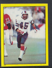 Topps 1982 American Football Sticker No 177 - Bill Simpson, Buffalo Bills (T55)