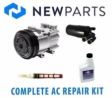 For Ford Ranger L4 2.5L 98-00 Complete A/C Repair Kit New Compressor w/ Clutch