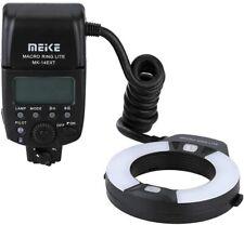 Meike MK-14EXT LED i-TTL Macro Ring Flash For Nikon DSLR