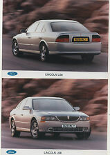""" FORD LINCOLN LS8 ""  THREE  PRESS RELEASE PHOTOS"
