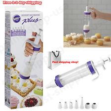 Wilton Cake Cupcake Dessert Decorator Kit Set Tools Decorating Tips Food Bake