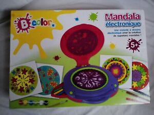 Jeu Mandala ELECTRONIQUE loisir créatif machine atelier designer