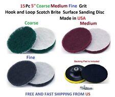 "25pcs 5.8/"" Inch diameter Grit 80 120 240 320 400 Sander Sanding Disc"
