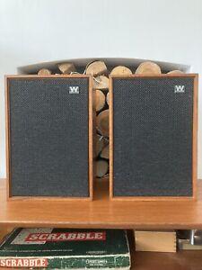 Vintage Wharfedale Denton 2 Speakers (Working)