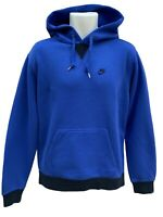 NEW Nike Sportswear NSW Vintage Heavyweight Cotton Pullover Hoodie Blue M