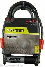 Kryptonite Kryptolok Series 2 Standard U-Lock & 4' Cable & Bike Mount Kryptolock