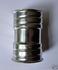 Raccord en inox rigide pour tuyau flex diamètre 80 pour Poêles à bois & granulés