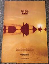 KATE BUSH - AERIAL full page PROMO AD (poster box lp cd vinyl tour ticket)
