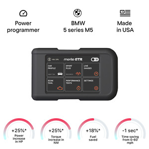 BMW 5 series M5 smart tuning chip power programmer performance race tuner