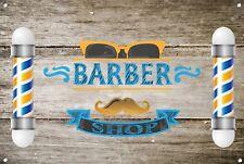 Barber Shop Letrero metal Decor Decoración De Pared Placas 1010