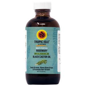 Tropic Isle Living Jamaican Black Castor Oil with Rosemary 4oz w/Free Applicator