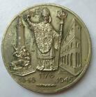 Big Antique Vintage Silver 800 Medal of the City of Milan 43 gr